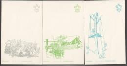Série De 10 Carte Scoutisme Japon - Non Circulées, Non écrites - Pfadfinder-Bewegung
