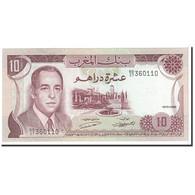 Billet, Maroc, 10 Dirhams, 1970, Undated, KM:57a, NEUF - Marocco
