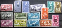 South  Georgia 1971 OP  14v +1v  MNH  LUX - South Georgia