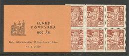 SUEDE 1946 - CARNET  YT C319a - Facit H76 -Neuf ** MNH - Cathédrale De Lund - 1904-50
