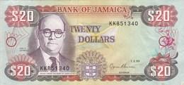 Jamaïque - Billet De 20 Dollars - Noel N. Nethersole - 1er Février 1995 - Jamaica