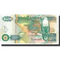Billet, Zambie, 20 Kwacha, 1992, 1992, KM:36a, SPL+ - Zambie