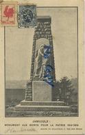 Jamioulx : Monument Aux Morts Pour La Patrie 1914-1918 Guerre Oorlog - Zonder Classificatie