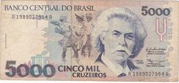 Brésil - Billet De 5000 Cruzeiros - Carlos Gomes - Non Daté - Brasil