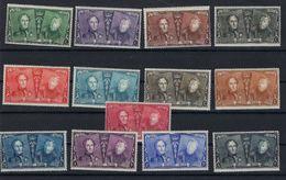 Jubileumreeks 75 Jaar Postzegels Nrs. 221 T/e/m 233 ** MNH Postfris Zonder Plakker In Goede Staat ! - Belgique