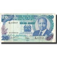 Billet, Kenya, 20 Shillings, 1986, 1986-09-14, KM:21e, TTB - Kenya