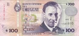 Uruguay - Billet De 100 Pesos - Eduardo Fabini - 2011 - Uruguay