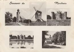 Moulbaix  (ATH) , Souvenir ,multivues,(moulin,église,chateau ) - Ath