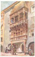 POSTAL   INNSBRUCK  -AUSTRIA  -GOLDENES DACHL - Innsbruck