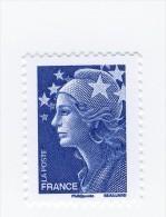 Beaujard TVP Bleu YT 4231a Sans Phosphore . Pas Courant , Voir Le Scan . Cote Maury N° 4188d : 20 € . - Variétés Et Curiosités