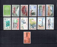 Madagascar   1962-63  .- Y&T Nº  364-365/368-369-370-371-372/375-376   (  * Sin Goma  ) - Madagascar (1960-...)