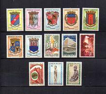 Madagascar   1963-66  .- Y&T Nº  388/392A-393-394-395-396-397/398   (  * Sin Goma  ) - Madagascar (1960-...)