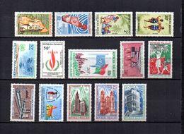 Madagascar   1967-68  -   Y&T  Nº   441-442-443/444-445-446-447-448/450-451-452/454     (* Sin Goma) - Madagascar (1960-...)