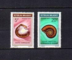 Madagascar  1970  - Y&T  Nº   472/473     ( * Sin Goma ) - Madagascar (1960-...)