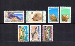 Madagascar  1970-71  - Y&T  Nº   480-481-482/483-484/486     ( * Sin Goma ) - Madagascar (1960-...)