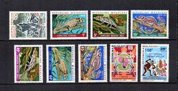 Madagascar  1973  .-  Y&T  Nº  522-523/528-529-530   ( *  Sin Goma ) - Madagascar (1960-...)