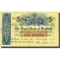 Billet, Scotland, 5 Pounds, 1961, 1961-04-01, KM:323c, TB+ - Schotland