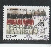 FRANCE 2014 MARTYRS DE TULLE OBLITERE  YT 4865 -                                TDA251 - France