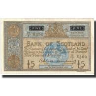 Billet, Scotland, 5 Pounds, 1962, 1962-08-07, KM:106a, SUP - [ 3] Scotland
