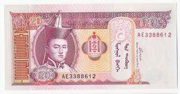 Mongolie - Billet De 20 Tugrik - 2005 - Neuf - Mongolia