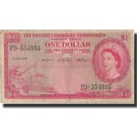 Billet, British Caribbean Territories, 1 Dollar, 1960, 1960-07-01, KM:7c, TB - Caraïbes Orientales