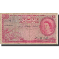 Billet, British Caribbean Territories, 1 Dollar, 1958, 1958-01-02, KM:7c, TB - Caraïbes Orientales