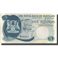 Billet, Scotland, 5 Pounds, 1969, 1969-03-19, KM:330, SUP+ - [ 3] Scotland