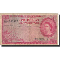 Billet, British Caribbean Territories, 1 Dollar, 1961, 1961-01-02, KM:7c, TB - Caraïbes Orientales