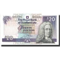 Billet, Scotland, 20 Pounds, 1993, 1993-02-24, KM:354b, SUP+ - Scozia