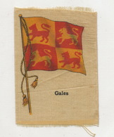 Silk Flag  Gales Walles - Pays De Galles