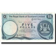 Billet, Scotland, 5 Pounds, 1981, 1981-01-10, KM:337a, SUP+ - [ 3] Scotland