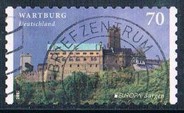 2017  Europa (Cept)  Wartburg - Selbstklebend - Used Stamps