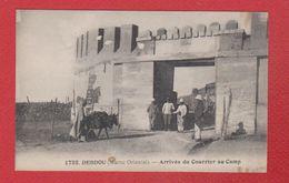 Debdou -  Arrivée Du Courrier Au Camp - Morocco