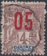 Dahomey 1912-1944 - Ambulant De Paouignan à Cotonou Sur N° 34 (YT) N° 34 (AM). Oblitération. - Dahomey (1899-1944)