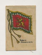 2 Silk Flags Bulgaria Tzar Czar - Bulgarie