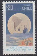 Chile 1982 Fish Export / Map Of South America 1v ** Mnh (37857A) - Chili