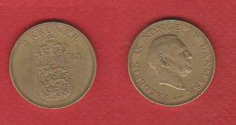 Danemark  --  2 Kroner  1958 -  Km# 838.2 -  état  TB+ - Denmark