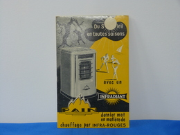 """Publicité  Cartonnée """"PAIN"""" Chauffage Infradiant - Paperboard Signs"""