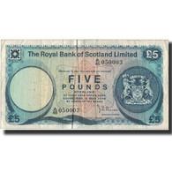 Billet, Scotland, 5 Pounds, 1976, 1976-05-03, KM:337a, TB - Scozia