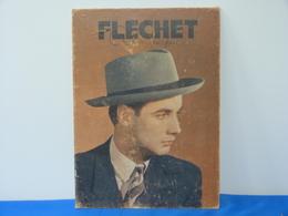 """Publicité  Cartonnée """"FLECHET"""" Chapeau - Pappschilder"""