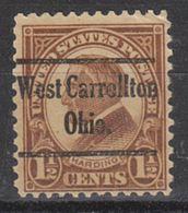 USA Precancel Vorausentwertung Preo, Locals Ohio, West Carrolton 633-230 - Vereinigte Staaten