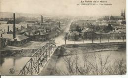 CHARLEVILLE.....ARDENNES...la Vallee De La Meuse....vue Générale....interressante   En 1914 - Charleville