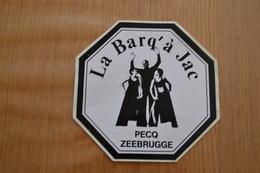 Pecq Ancienne Discothèque La Barq' à Jac - Stickers