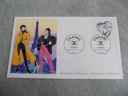 FDC France : Coeur Chanel - Paris 09/01/2004 - FDC
