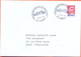 France Cover 1999 Cancel Peugeot 504  Automobile  Fine Used - Coches