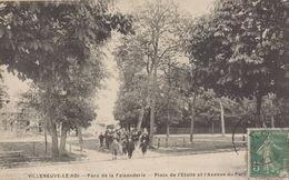 Villeneuve Le Roi : Place De L'Etoile Et L'avenue Du Parc - Villeneuve Le Roi