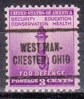 USA Precancel Vorausentwertung Preo, Locals Ohio, West Manchester 705 - Vereinigte Staaten
