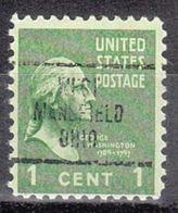 USA Precancel Vorausentwertung Preo, Locals Ohio, West Mansfied 707 - Vereinigte Staaten