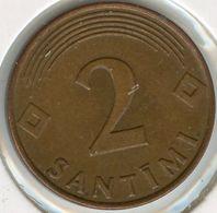 Lettonie Latvia 2 Santimi 2000 KM 21 - Lettonie