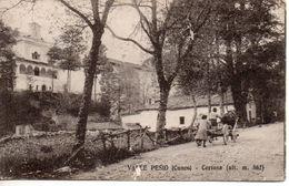 CARTOLINA VALLE PESIO (CUNEO) CERTOSA - 1920 - VIAGGIATA - Cuneo
